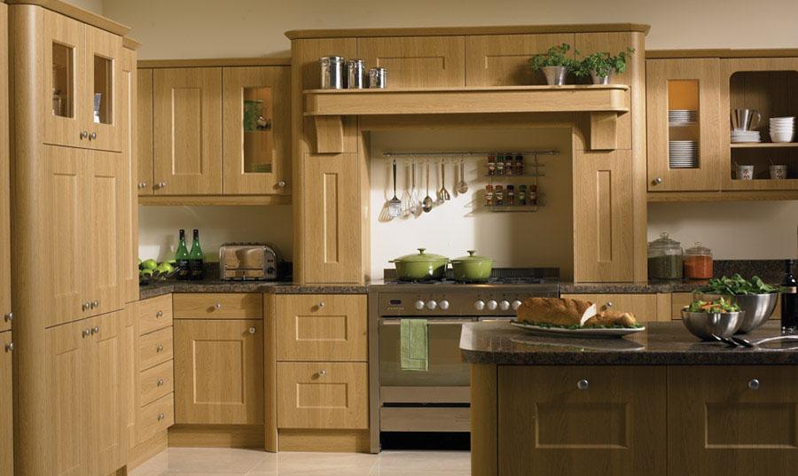Bella Lissa Cambridge Oak Kitchen