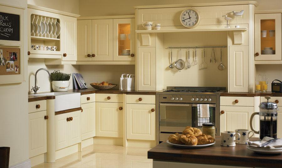 Bella Vanilla Newport Kitchen