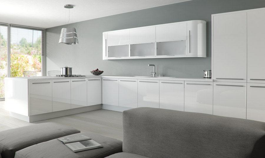 Zurfiz Ultragloss White Kitchen