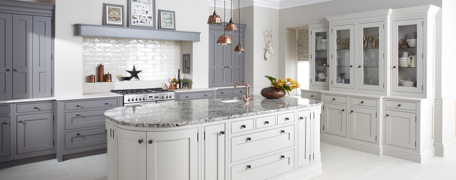 Burbidge Langton Painted Kitchen