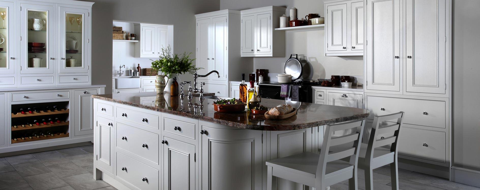 Burbidge Salcombe Painted Timber Kitchen