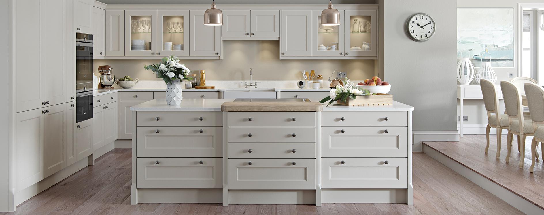 Burbidge Finsbury Painted Timber Kitchen