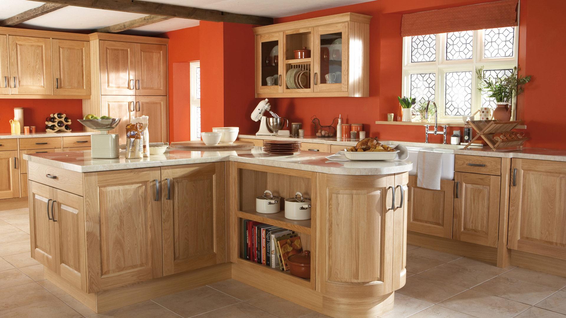 Burbidge Kinsale Natural Oak Kitchen