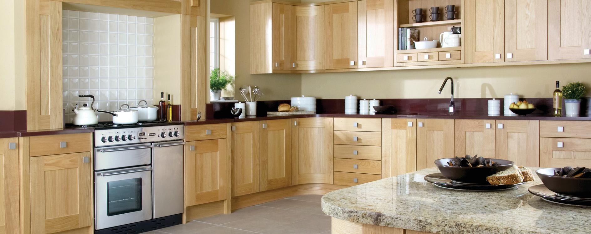 Burbidge Lansdowne Natural Oak Kitchen