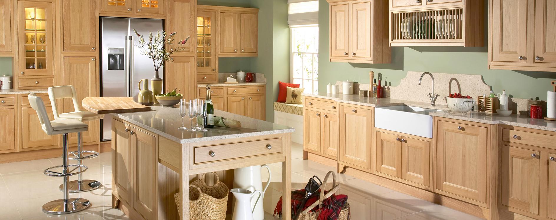 Burbidge Tetbury Natural Oak Kitchen