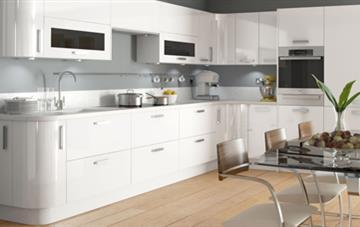 Multiwood Haddington - White Kitchen