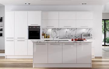 Multiwood Hameldown - White Kitchen