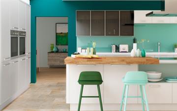 Multiwood Torberry Light Grey & White Kitchen