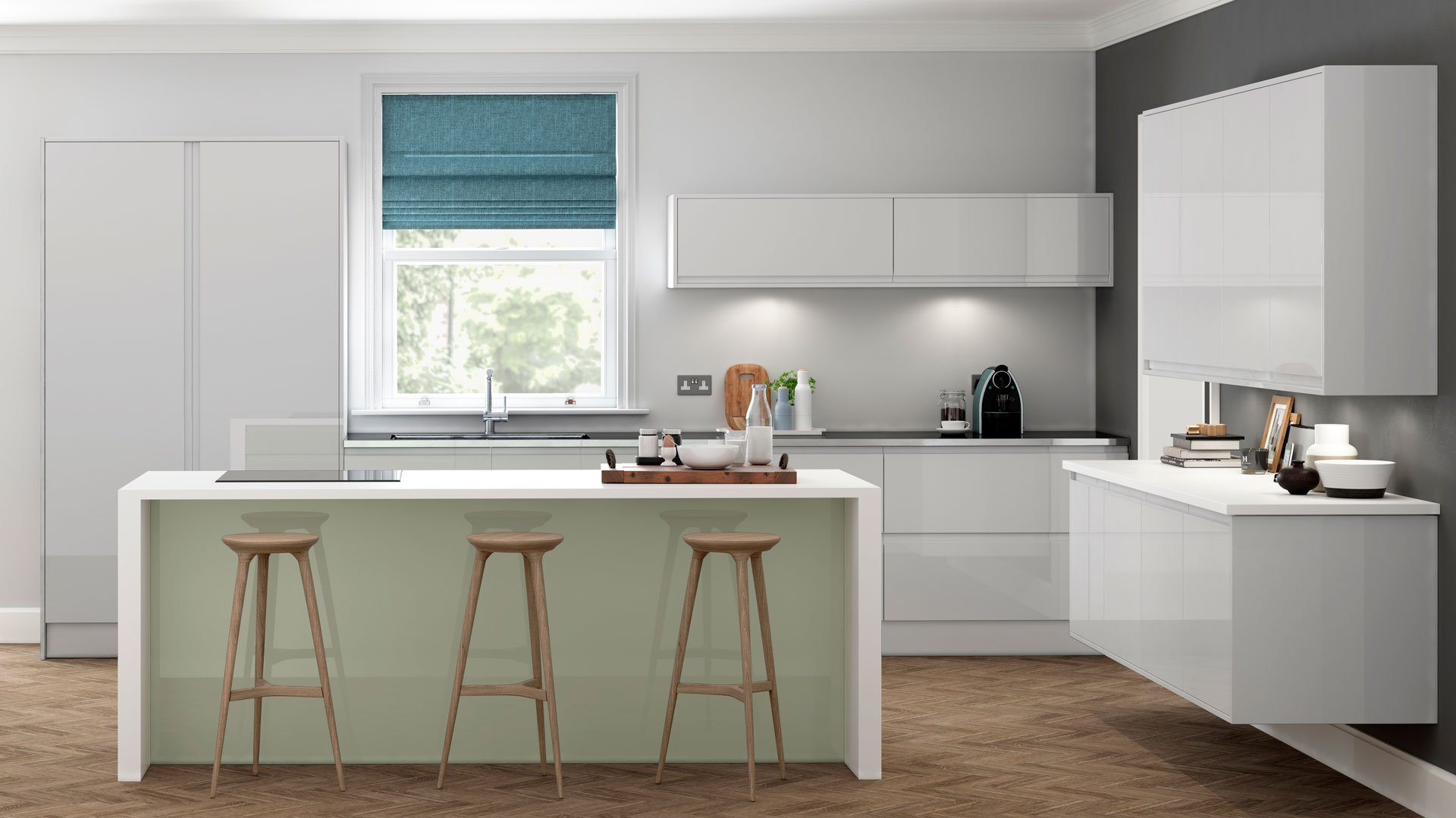 Multiwood Welford - Grey & Willow Kitchen