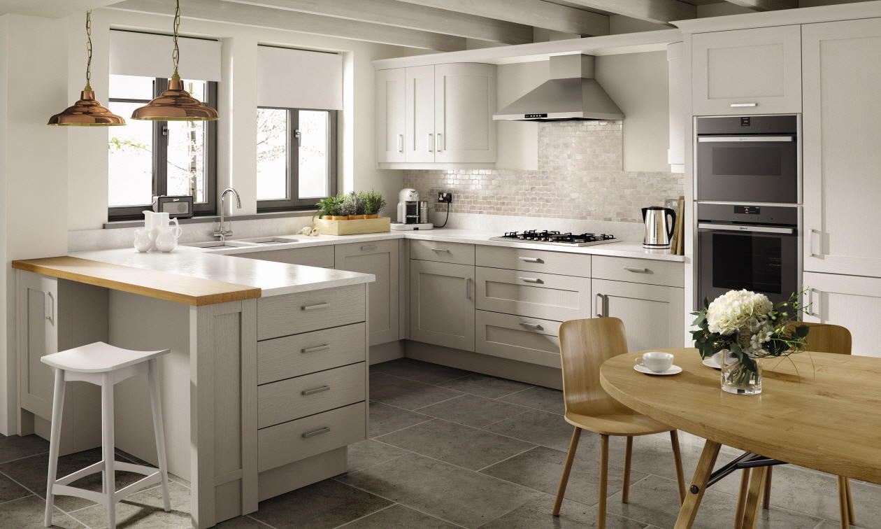 Second Nature Mornington Shaker Kitchen