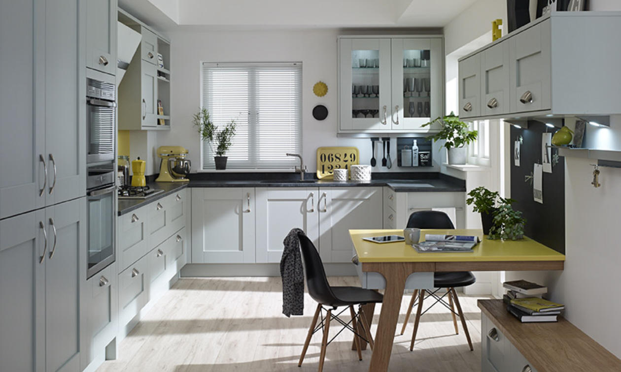 Second Nature Milbourne Partridge Grey Kitchen