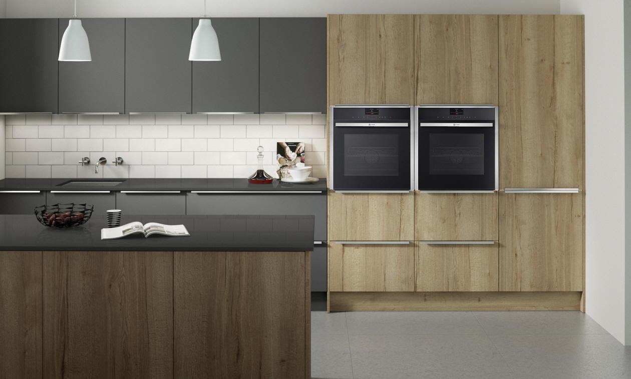 Second Nature Feature Reclaimed Oak Kitchen