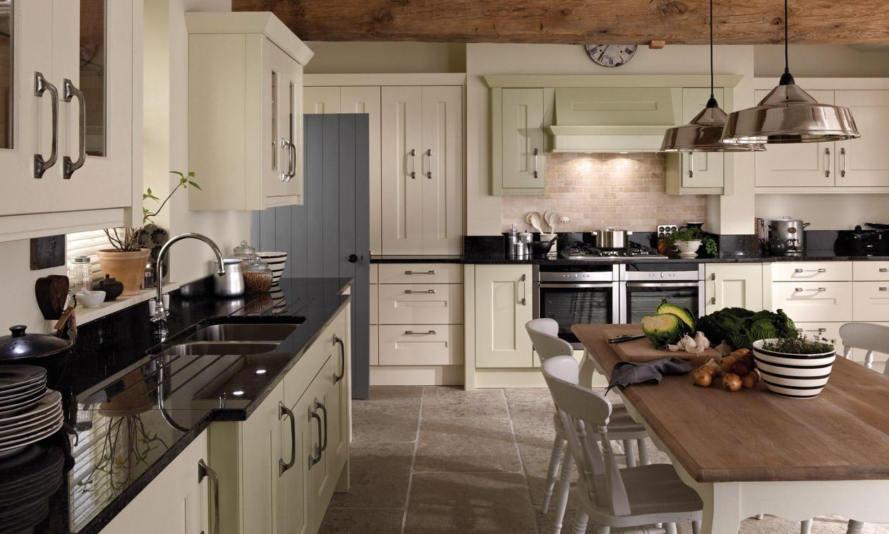 Second Nature Langham Painted Kitchen