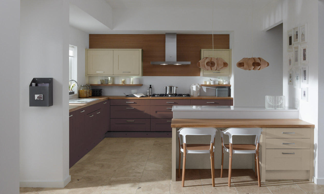 Second Nature Milbourne Painted Kitchen