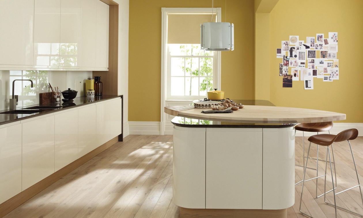 Second Nature Remo Alabaster Kitchen