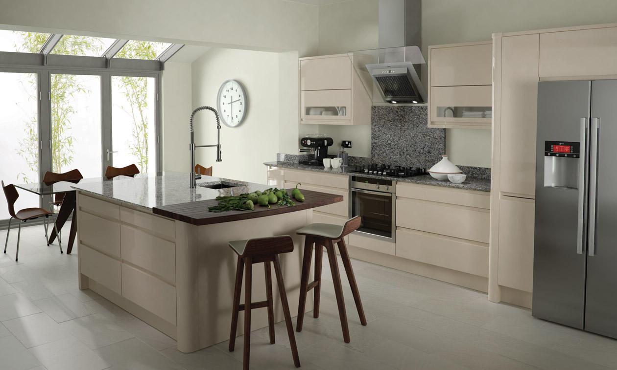 Second Nature Remo Beige Kitchen