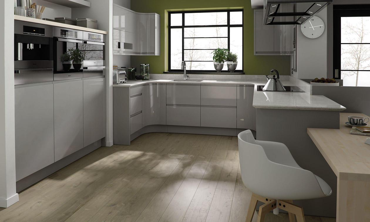 Second Nature Remo Dove Grey Kitchen