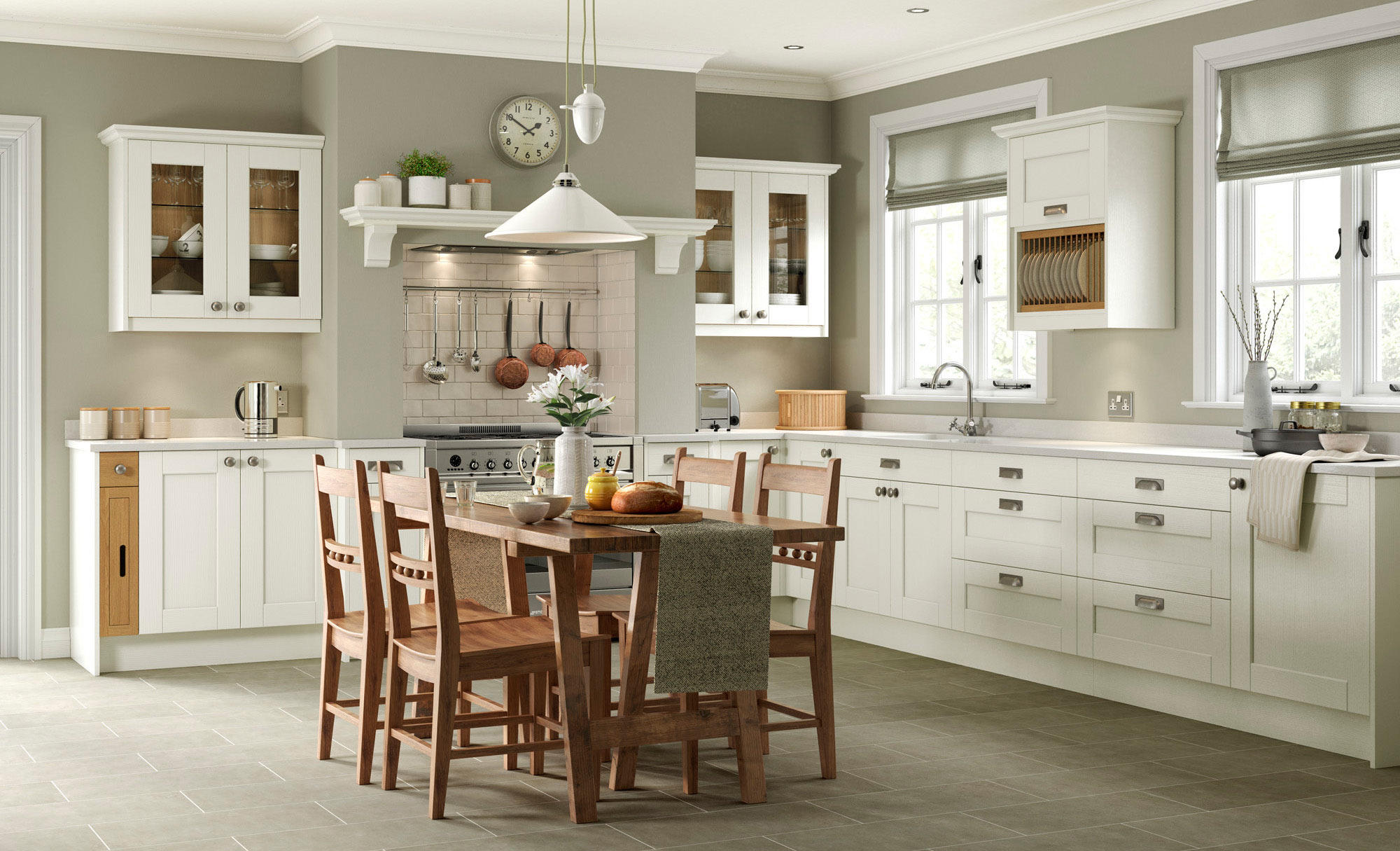Uform Kensington Ivory  Kitchen