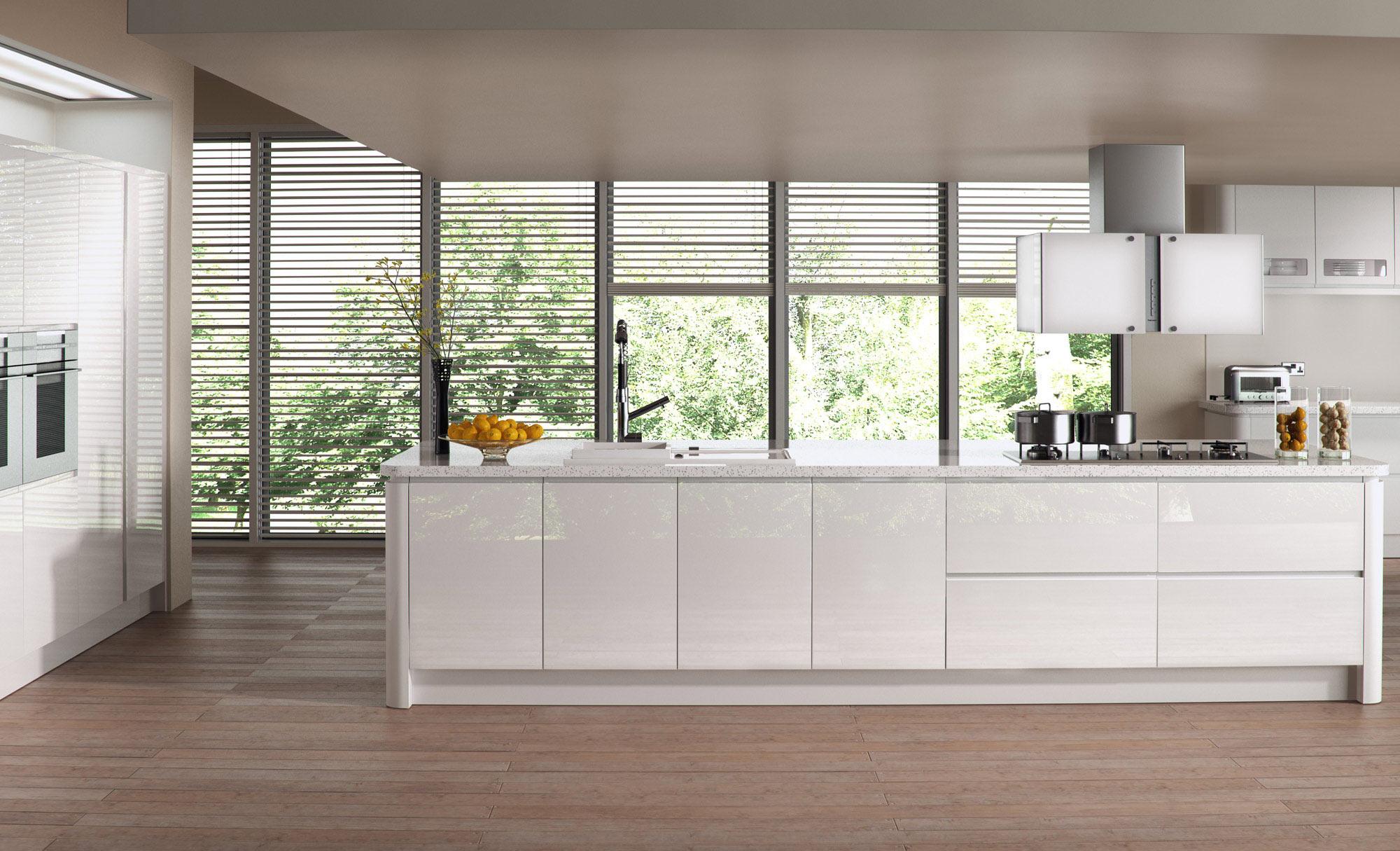 Uform Strada Gloss White Kitchen