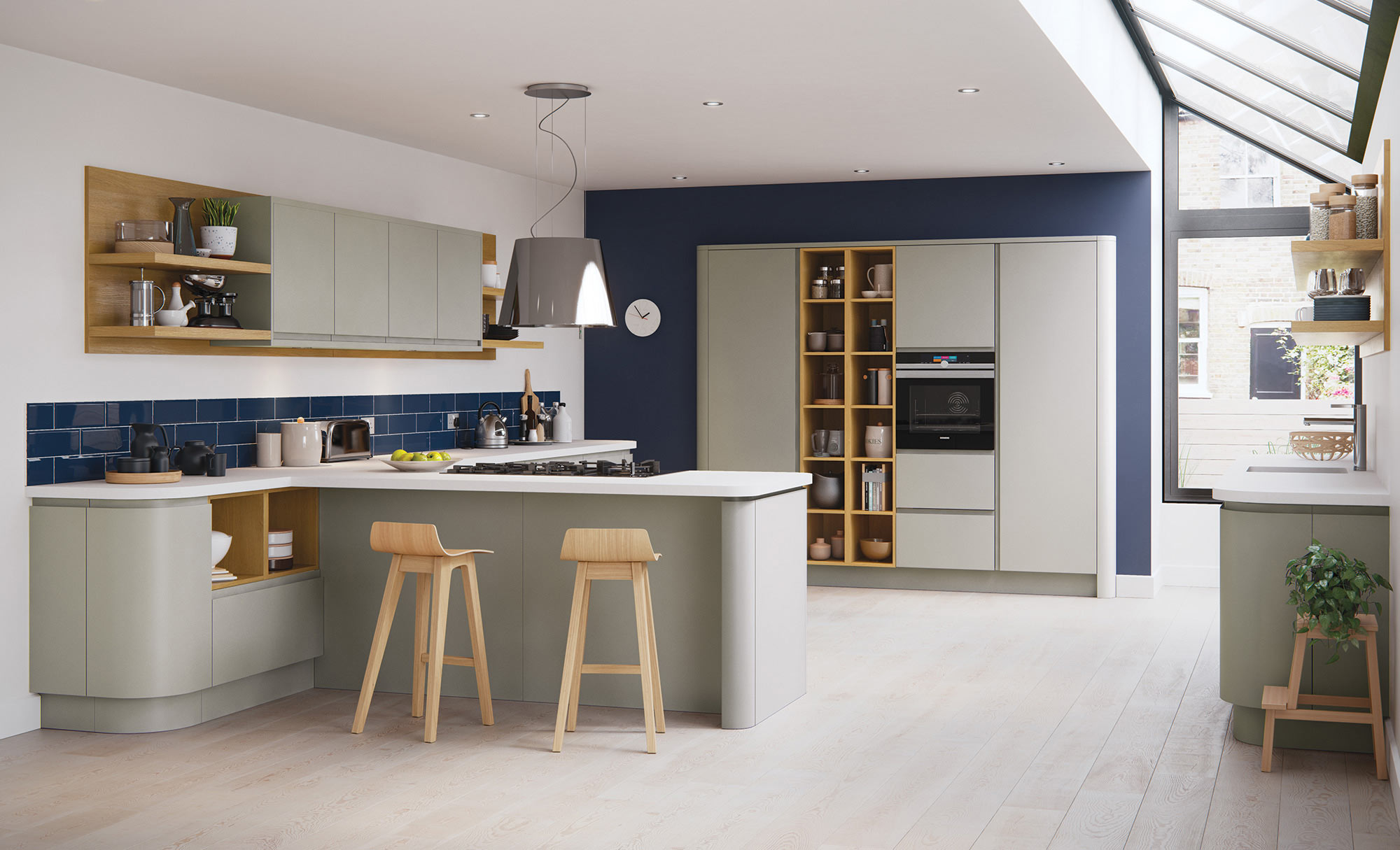 Uform Strada Matte Stone Kitchen