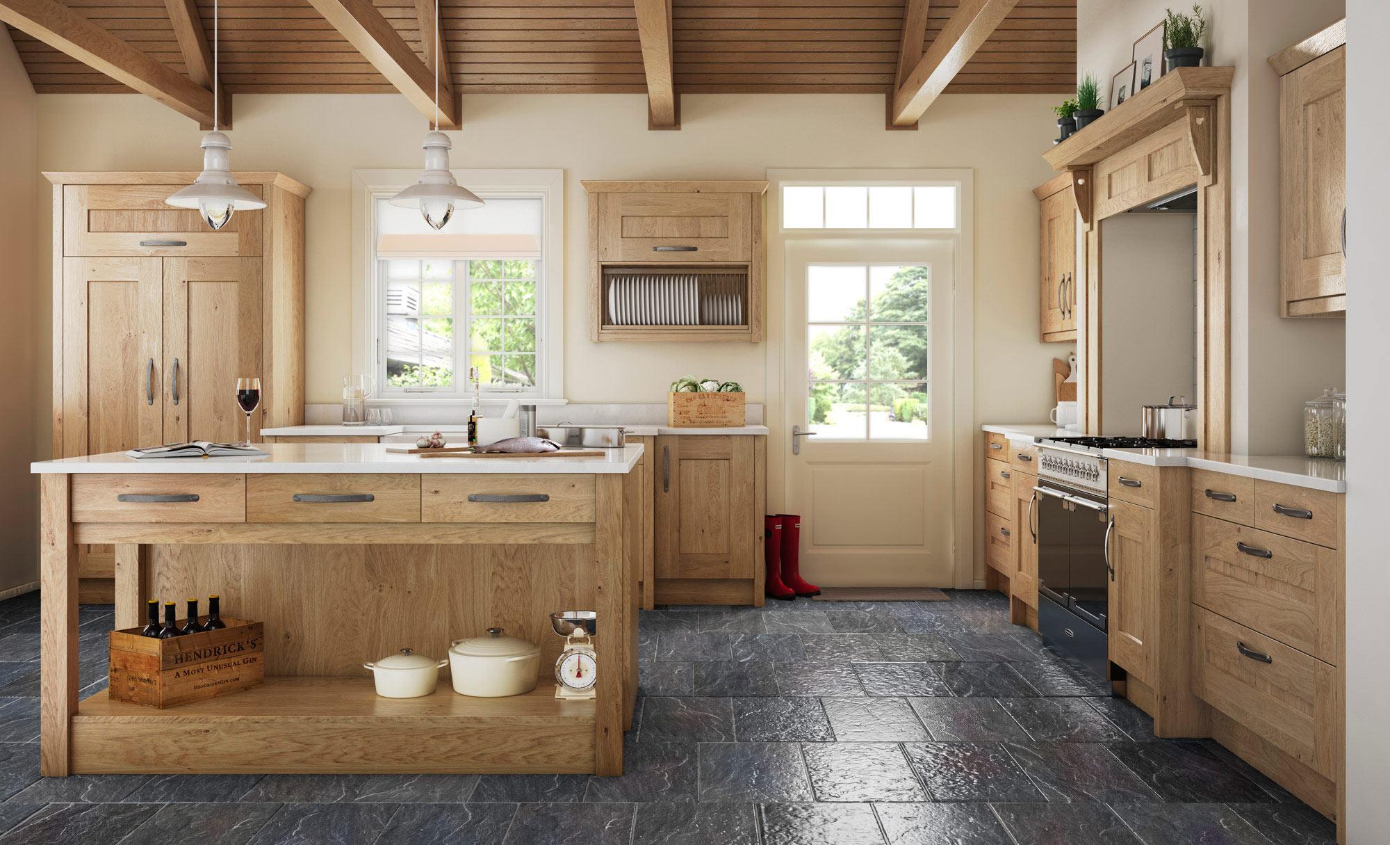 Uform Clonmel Knotty Oak Kitchen