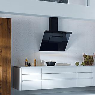 Schuller Next125  NX 501 Crystal white high gloss kitchen