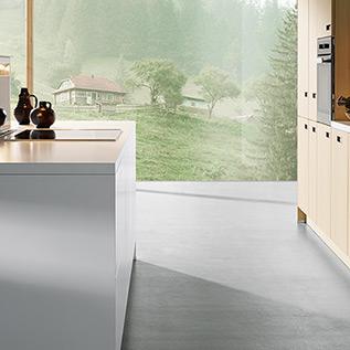 Schuller Next125  NX 620 Natural fir, brushed kitchen