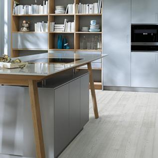 Schuller Next125  NX 500 Stone grey satin kitchen