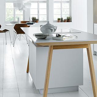 Schuller Next125  NX 800 Solid polar white kitchen