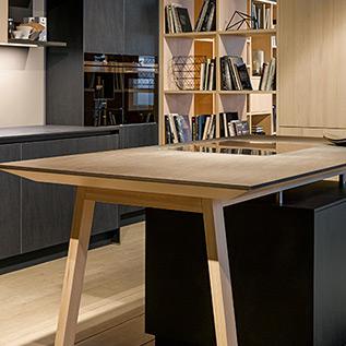 Schuller Next125  NX 950 Ceramic graphite kitchen
