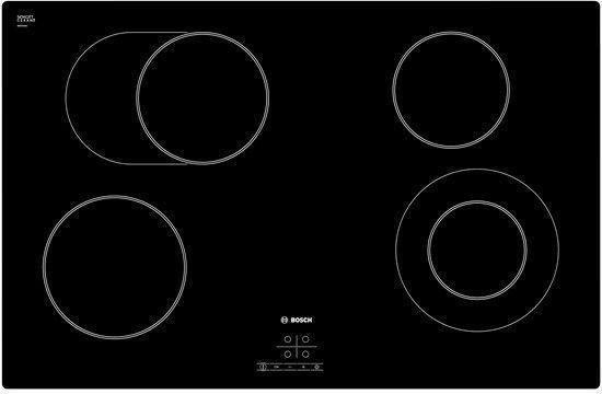 Bosch Serie 4 80cm QuickTherm Ceramic Hob, Frameless