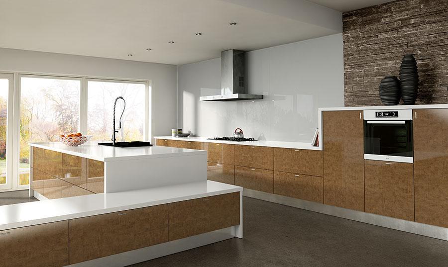 Zurfiz Ultragloss Copperleaf Kitchen