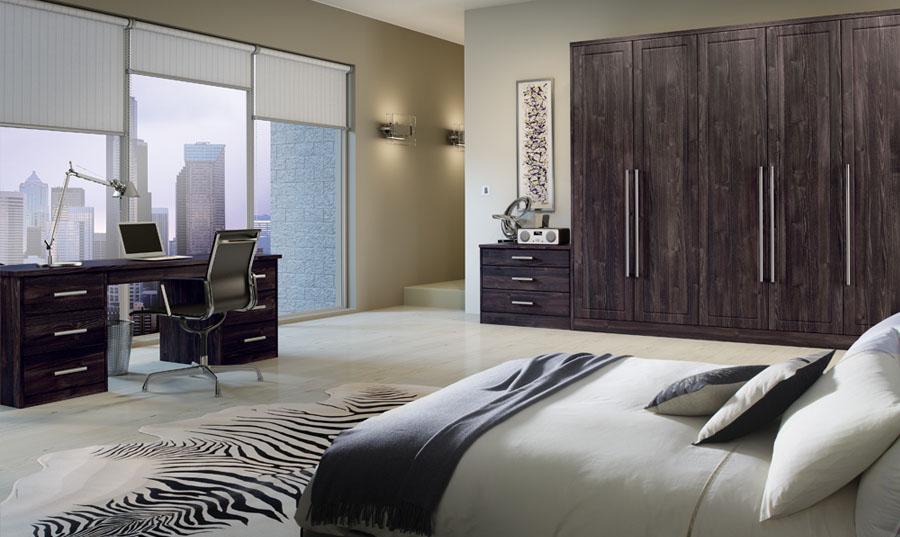Bella Dark Oak Bedroom