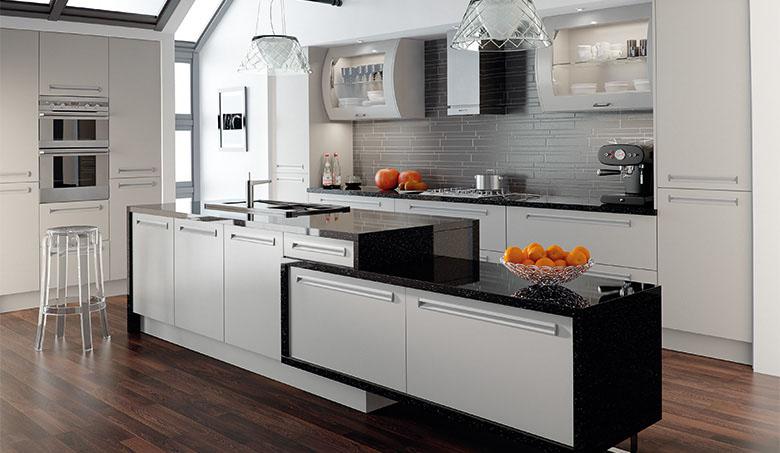 Bella Matt Dove Grey Inset Kitchen