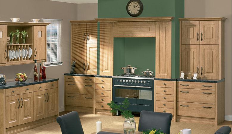 Bella Pippy Oak Oxford Kitchen