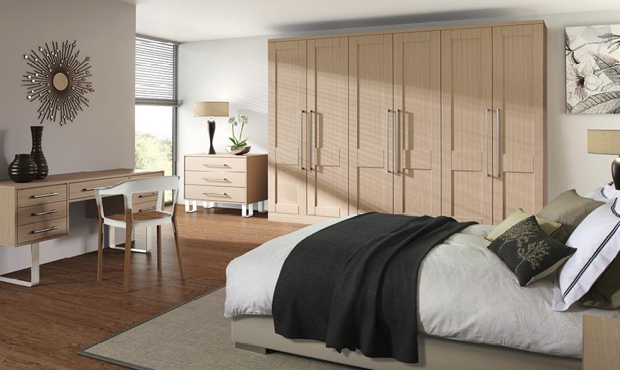 Bella Swiss Pear Shaker Bedroom