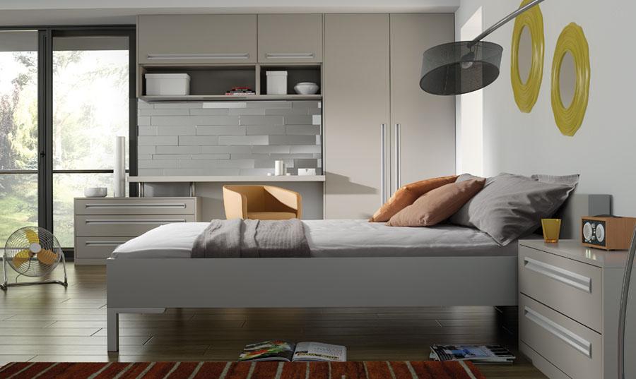 Bella Matt Dove Grey Bedroom
