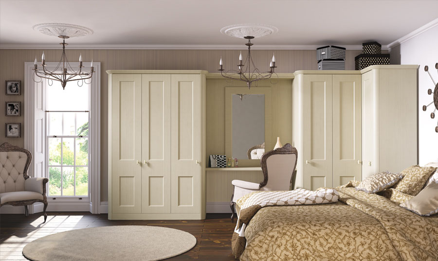 Bella Cambridge Cream Oakgrain Bedroom