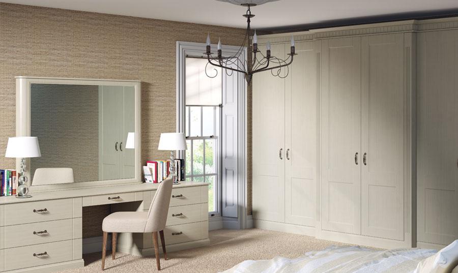 Bella Oakgrain Mussel Palermo Bedroom
