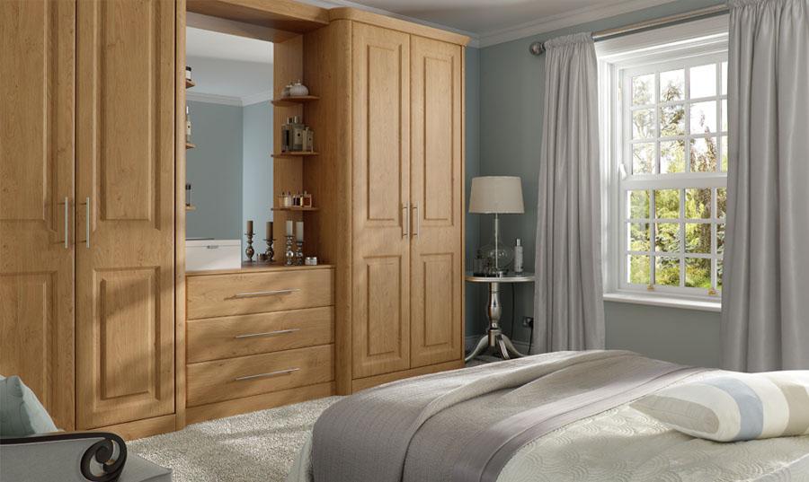 Bella Pippy Oak Oxford Bedroom