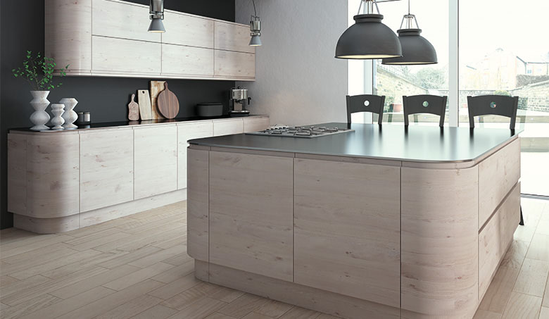 Pronto Hemlock Nordic Malton Kitchen