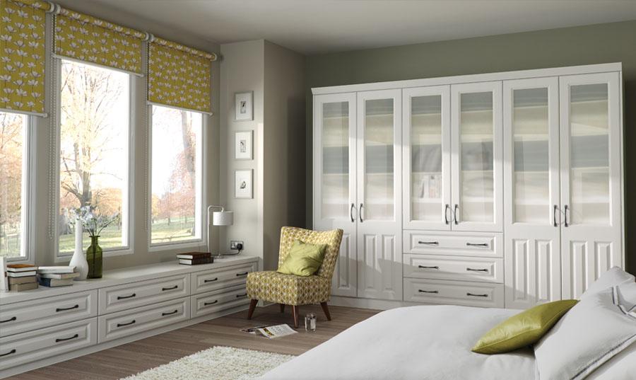 Bella Super White Ash Milano Bedroom