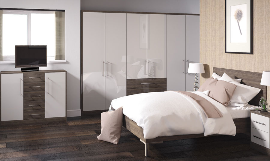 Zurfiz Ultragloss Cashmere And Japanese Pear Bedroom