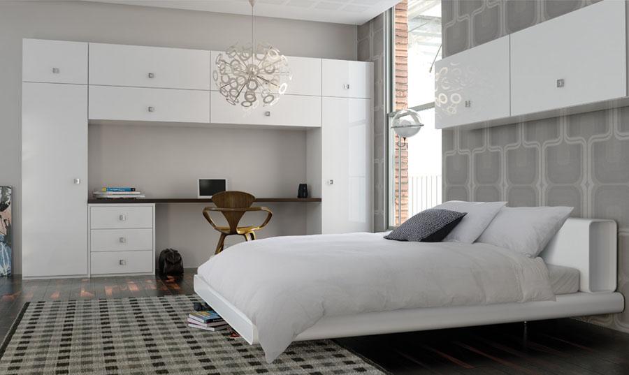 Zurfiz Ultragloss White Bedroom
