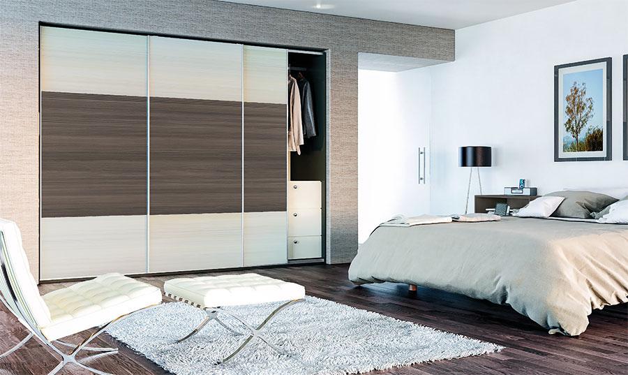 Glidor Avola Cream Avola Flint Grey Bedroom