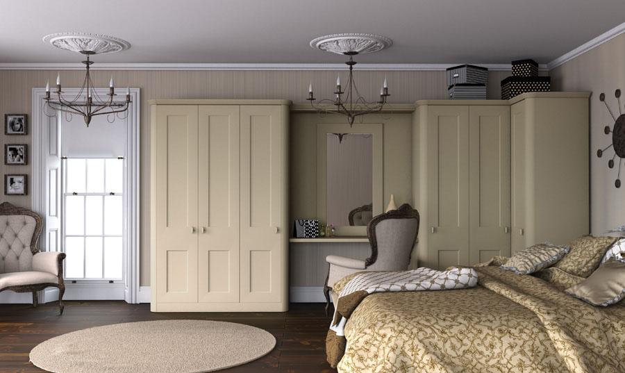 Bella Paintable Bedroom