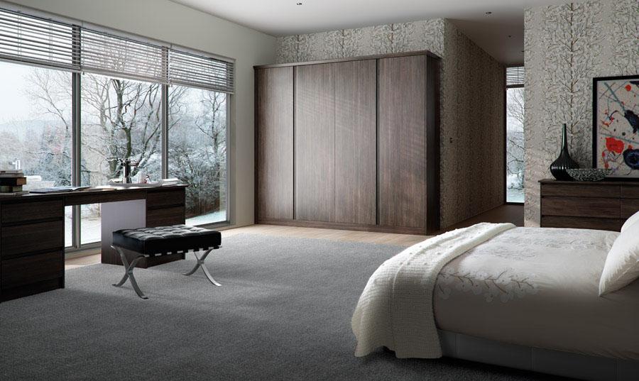 Bella Knebworth Avola Flint Grey Bedroom