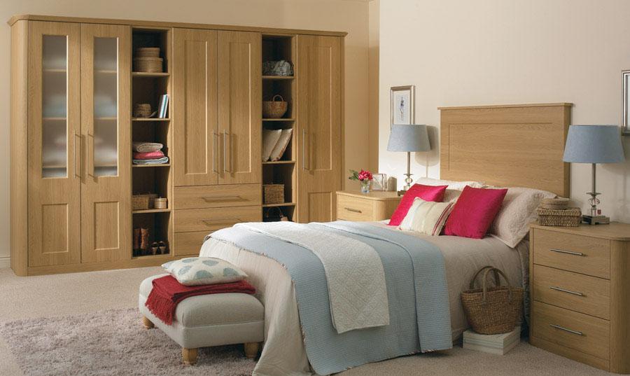 Bella Lissa Oak Cambridge Bedroom