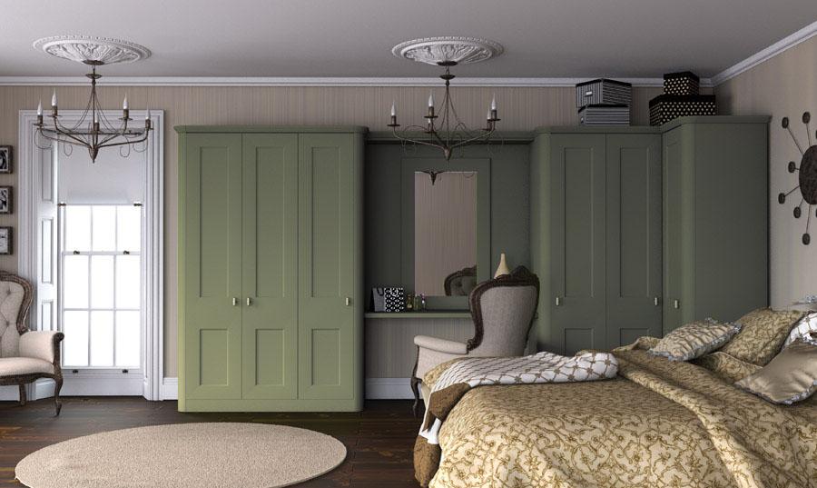 Bella Cambridge Garden Green Bedroom