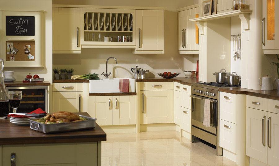 Bella Vanilla Warwick Kitchen